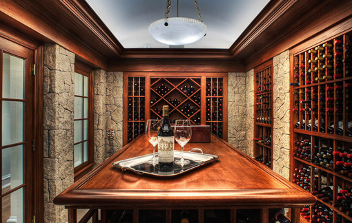 Wine Cellar/Entertainment Space